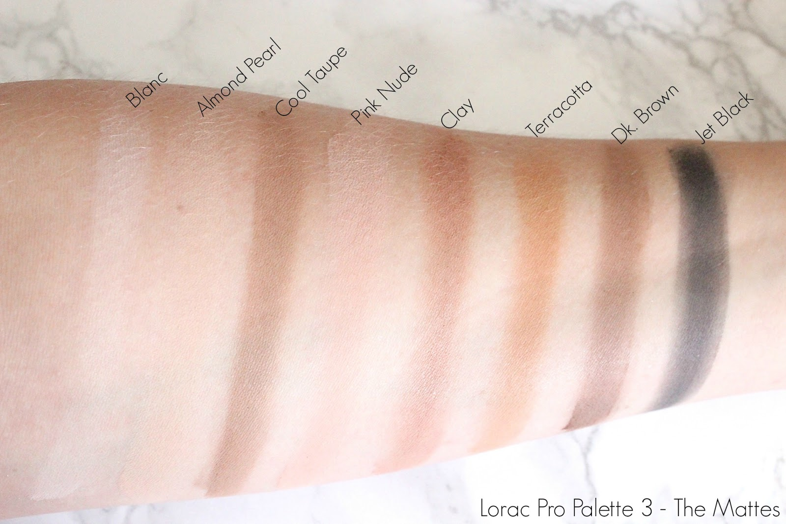 Lorac Pro Palette 3 Review Swatches