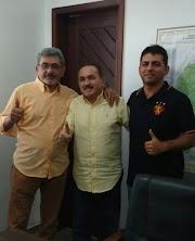 Vereador Erivaldo e Leão XIII participam de reunião em São Luís