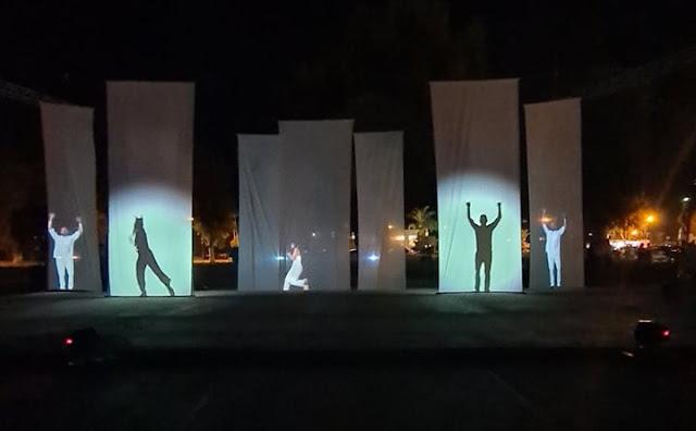 """Ενθουσίασε το κοινό η μουσικοθεατρική παράσταση """"Ασίγαστος Ηρωισμός"""" στη Νέα Κίο"""