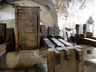 アマルフィのMuseo della Cartaの工場風景