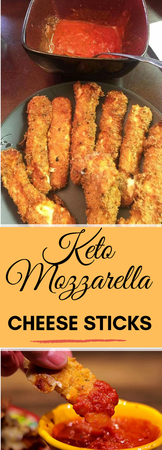 Keto Mozzarella Sticks #keto #diet