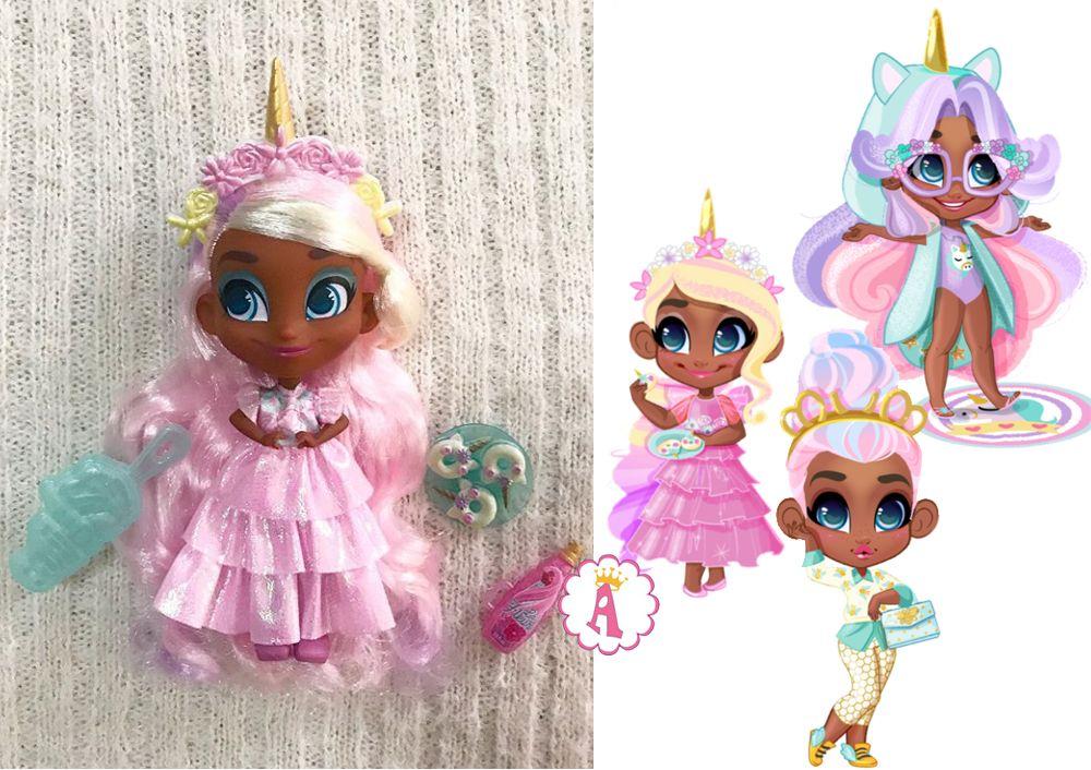 Новые куклы Хэрдораблс сезон 4 Виллоу единорог