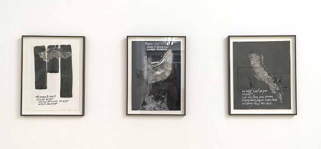 expo Carolyn Carlson à la galerie Isabelle Gounod