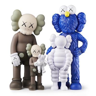 KAWS Family Vinyl Figure Set