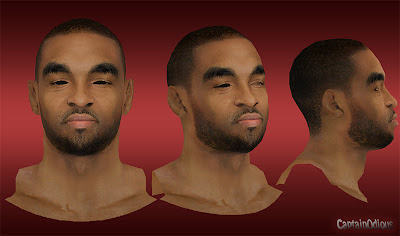 NBA 2K13 Alan Anderson Cyberface Mod