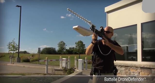 جهاز Battle Drone Defender لإسقاط طائرات الدرون