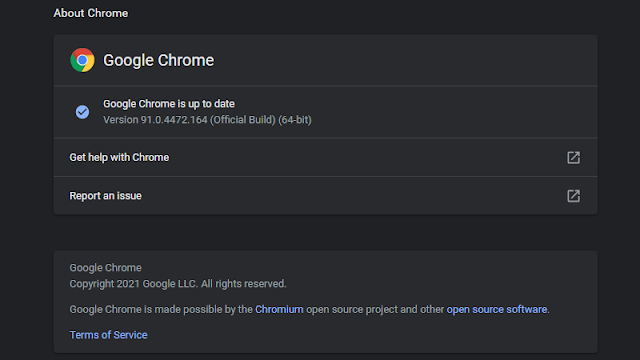 Cara Update Google Chrome di Laptop