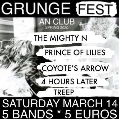 GRUNGE FEST Vol. 1: Σάββατο 14 Μαρτίου @ An Club