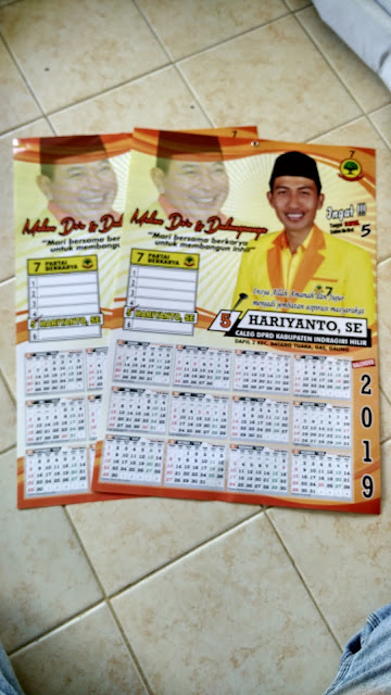 Kalender Dinding CALEG
