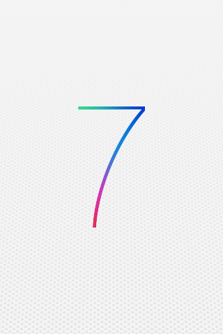 iOS 7 wallpaper for iPhone 3GS1