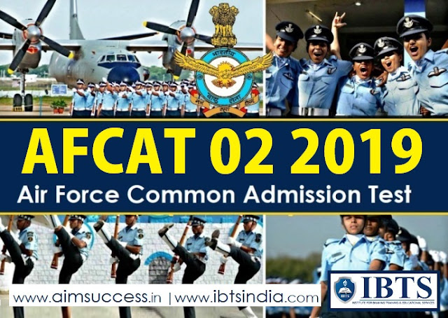 AFCAT 022019 Notification Out 242 Posts (Apply Online)