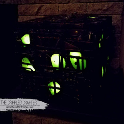 Light Up Borg Cube Money Box, by Sam Lewis AKA The Crippled Crafter