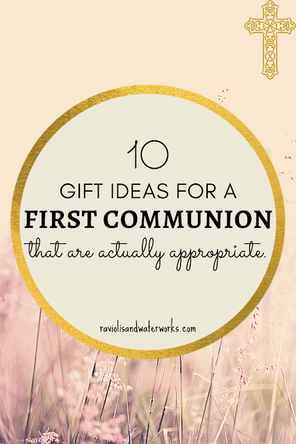 what to get someone for their communion