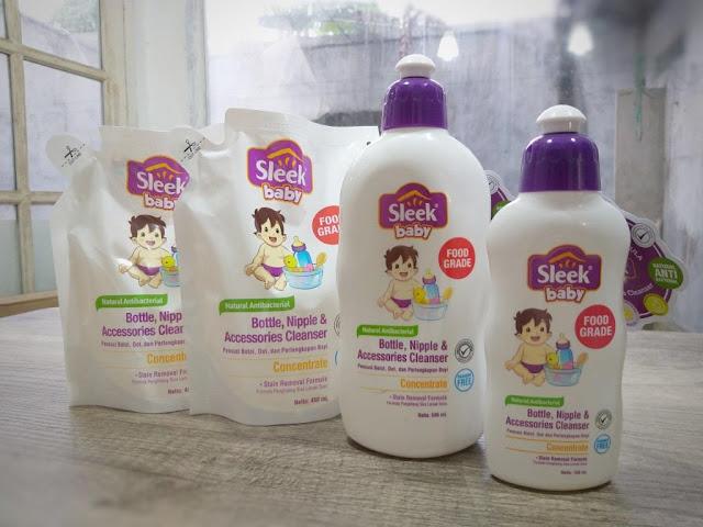 Sleek Baby Pembersih Botol dengan 8 Proteksi - www.saryahd.com