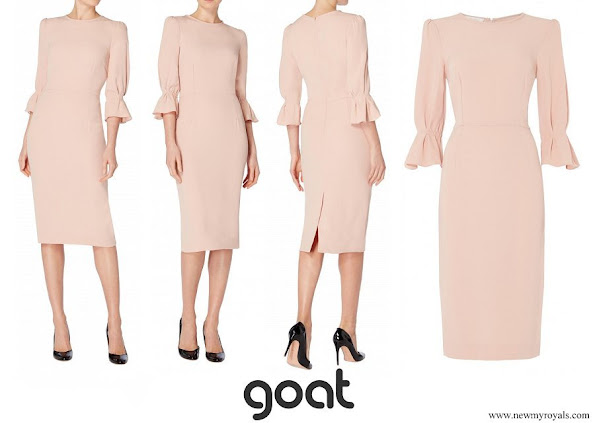 Princess Marie wore Goat Fashion Gaynor Pencil Dress