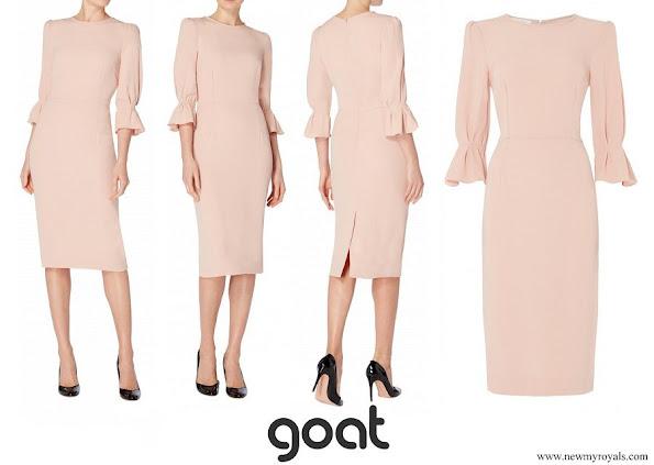 Princess Marie wore Goat Fashion Gaynor Pencil Dress