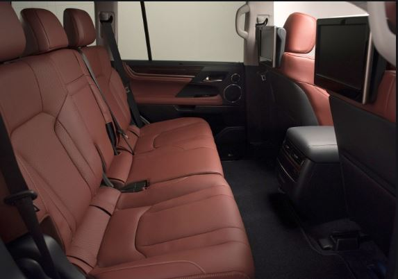 Lexus LX 570 2016 Interior Seats