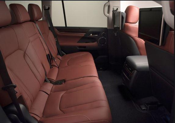 Lexus LX 570 2016 Interior Seats