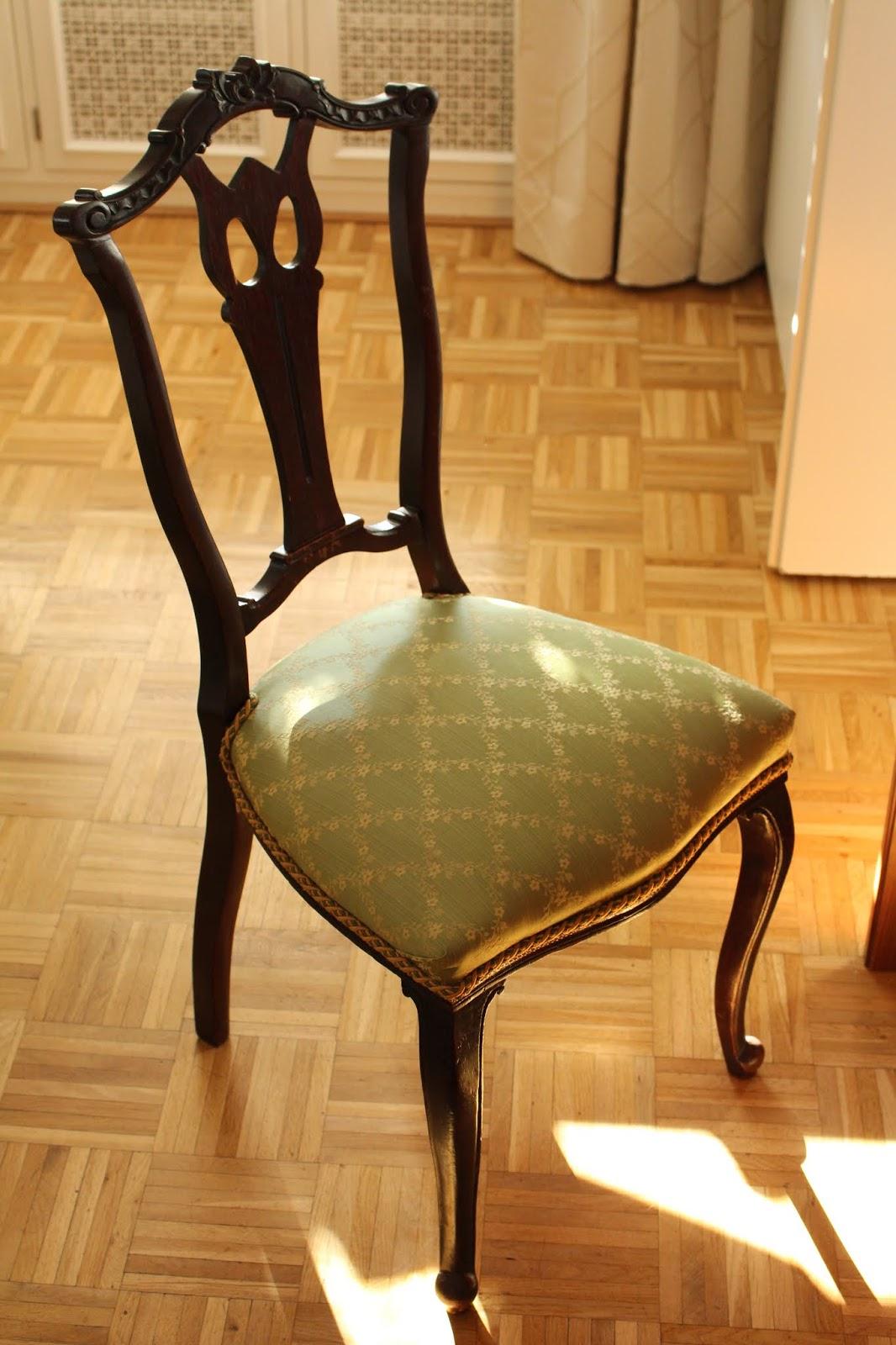 Stuhl im wunderbaren Hotel Scarpati in Wuppertal