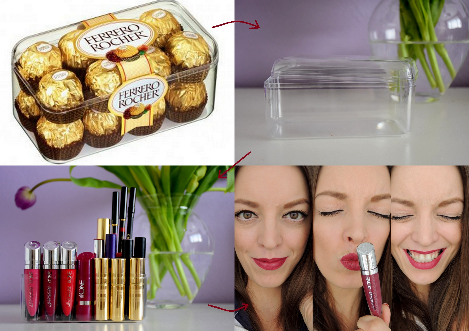 recycling: box for lipsticks