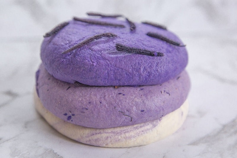 lavender scented playdough