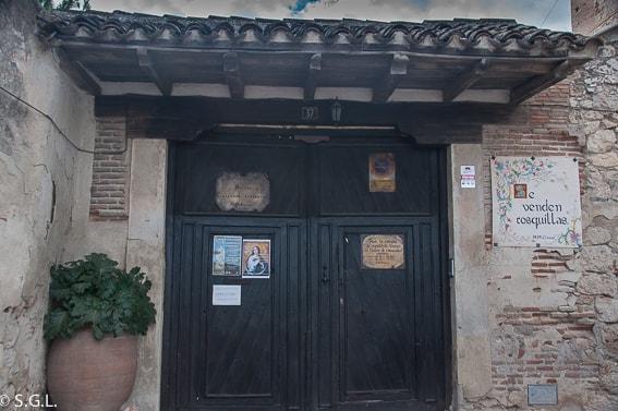 Convento de las madres clarisas en Chinchon. Un dia en Chinchon