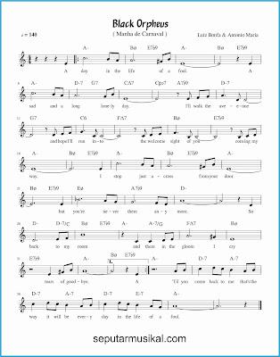 black orpheus lagu jazz standar
