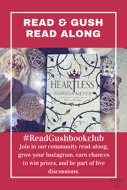 Read & Gush Heartless Online Book Club