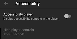 Youtube Controls Not Hiding Settings in Android