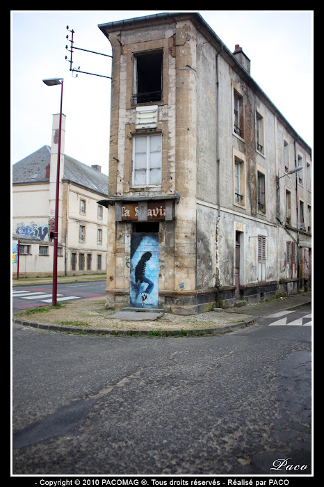 street art à l'aérosol à Sedan