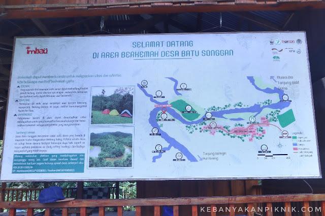 Foto Peta Ekowisata Kenegerian Desa Batu Sanggan