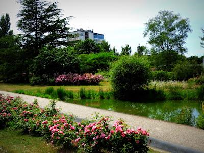 GRAND-QUEVILLY. Des vagues de couleurs et de senteurs réunies dans le merveilleux Parc de La Roseraie.