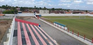 Estádio do Confiança Esporte Clube de Sapé-PB o conhecido Toca do Papão ganhando cara nova para os grandes campeonatos na Paraiba