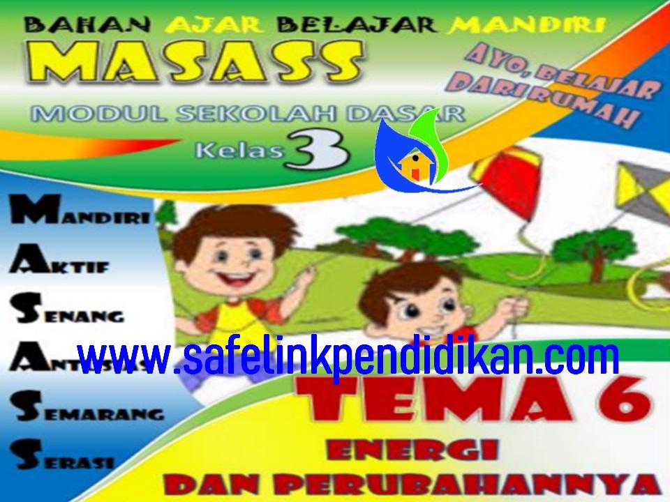 Modul BDR Kota Semarang Semester 2 Tema 6