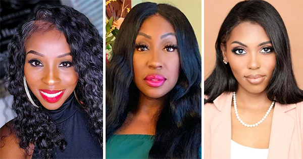 Derricka Harwell, CEO of BeautifyCredit; Neko Cheri, the Executive Director of State of the Black Dollar and Founder of Invest Gary; and Sierra Nicole, Creator of Financially Lit