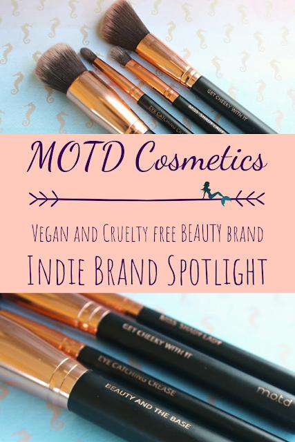 MOTD Cosmetics Indie Brand Spotlight