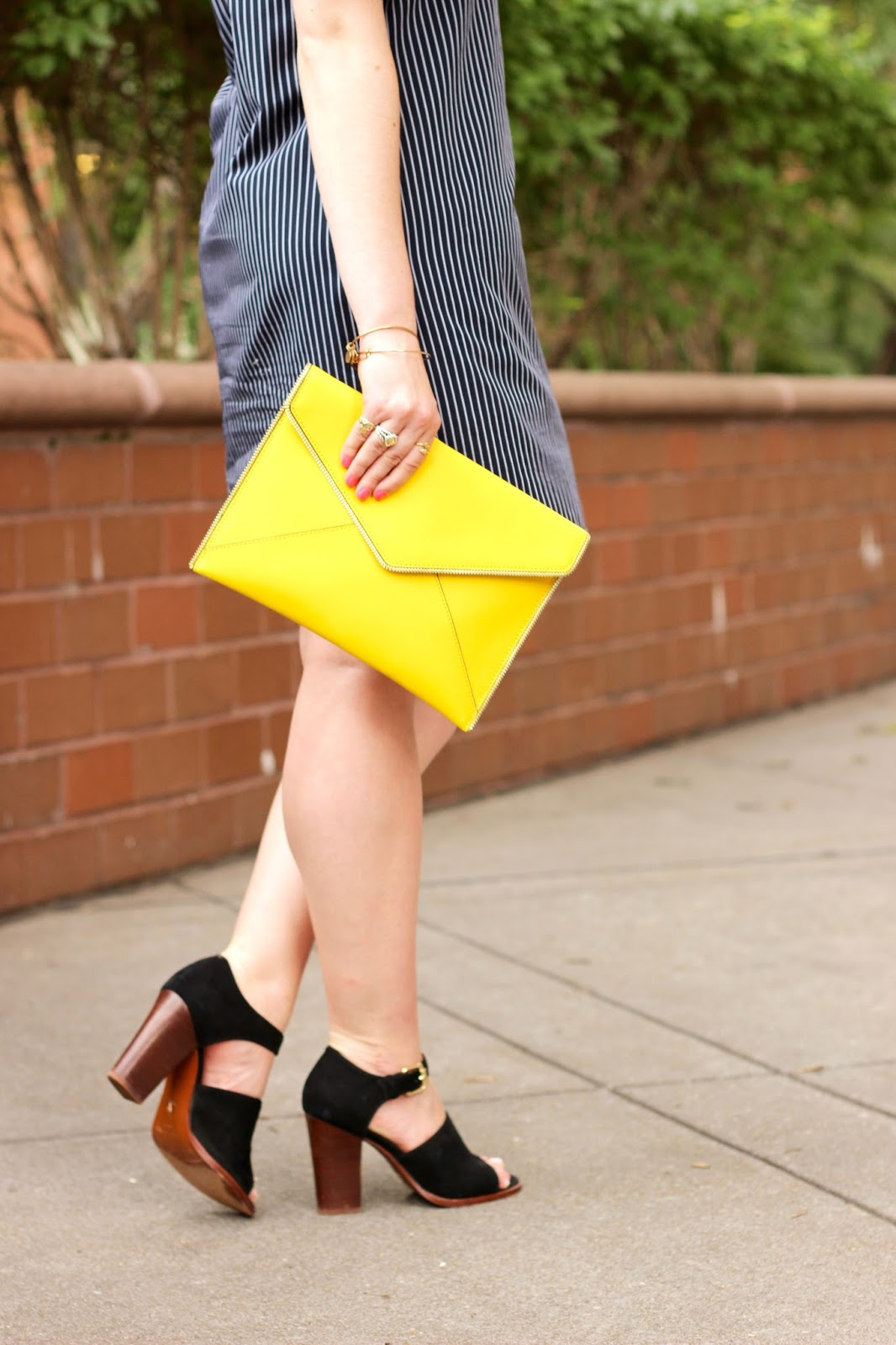 yellow clutch summer