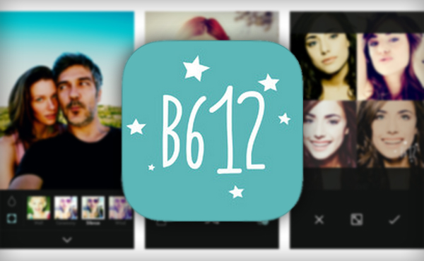 تطبيق B612 - Selfie from the heart