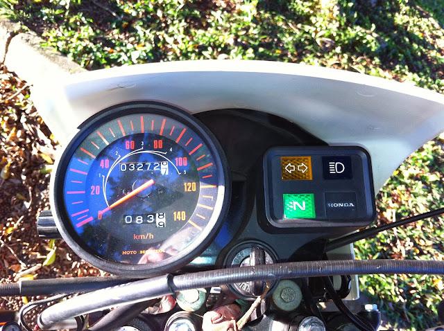 IMG 1331 - Garagem do Colecionador: Honda XL125S - 1987 (Xizelinha)