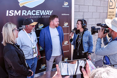 A special highlight of the weekend was the launch of the TicketGuardian FanStories project with Larry Ogburn, a diehard #NASCAR fan attending his 55th running of the Phoenix race.
