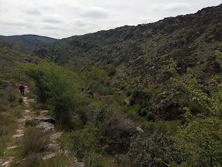 Descenso al barranco del río Bornova