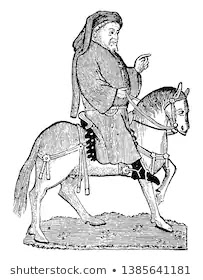 Collection of Geoffrey Chaucer's Rare Portaits