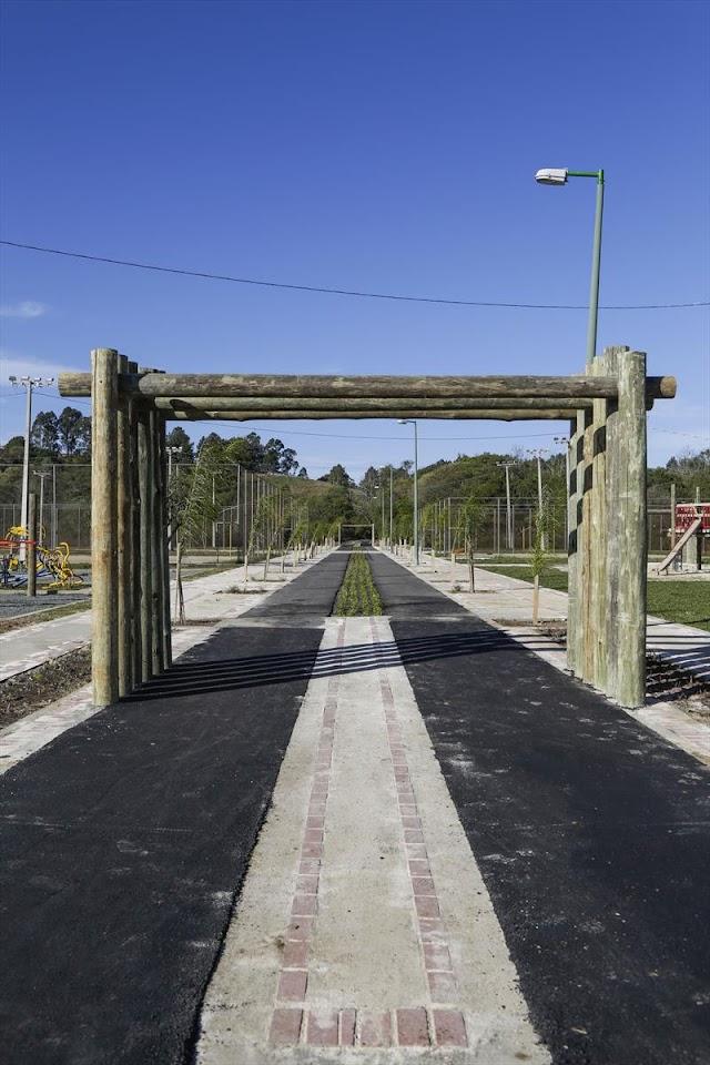 Pedido da população, obras do Parque Atuba entram em fase final