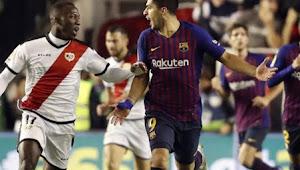 Prediksi Skor Bola Barcelona vs Rayo Vallecano 10 Maret 2019