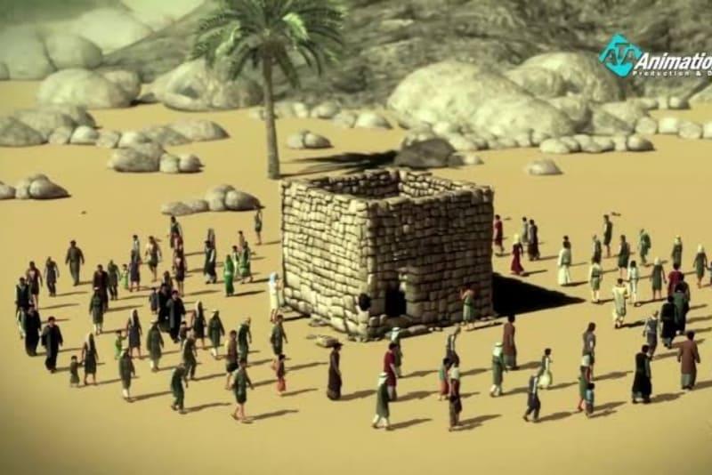 Keikutsertaan Nabi Dalam Membangun Ka'bah Dan Sifat Amanahnya