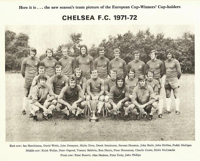CHELSEA F.C 1971-72. By Soccer stars.