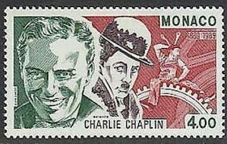 Monaco 1989 Charlie Chaplin
