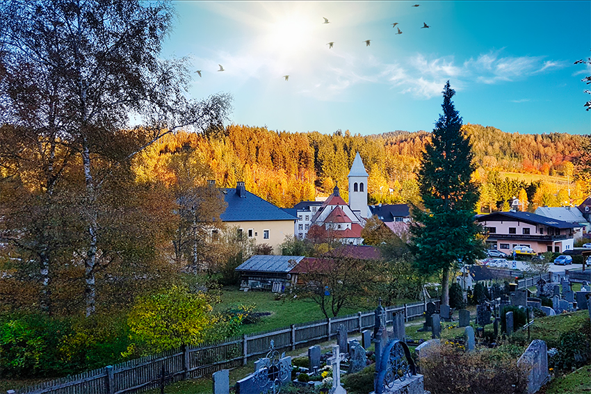 Gemeindealpe Herbst