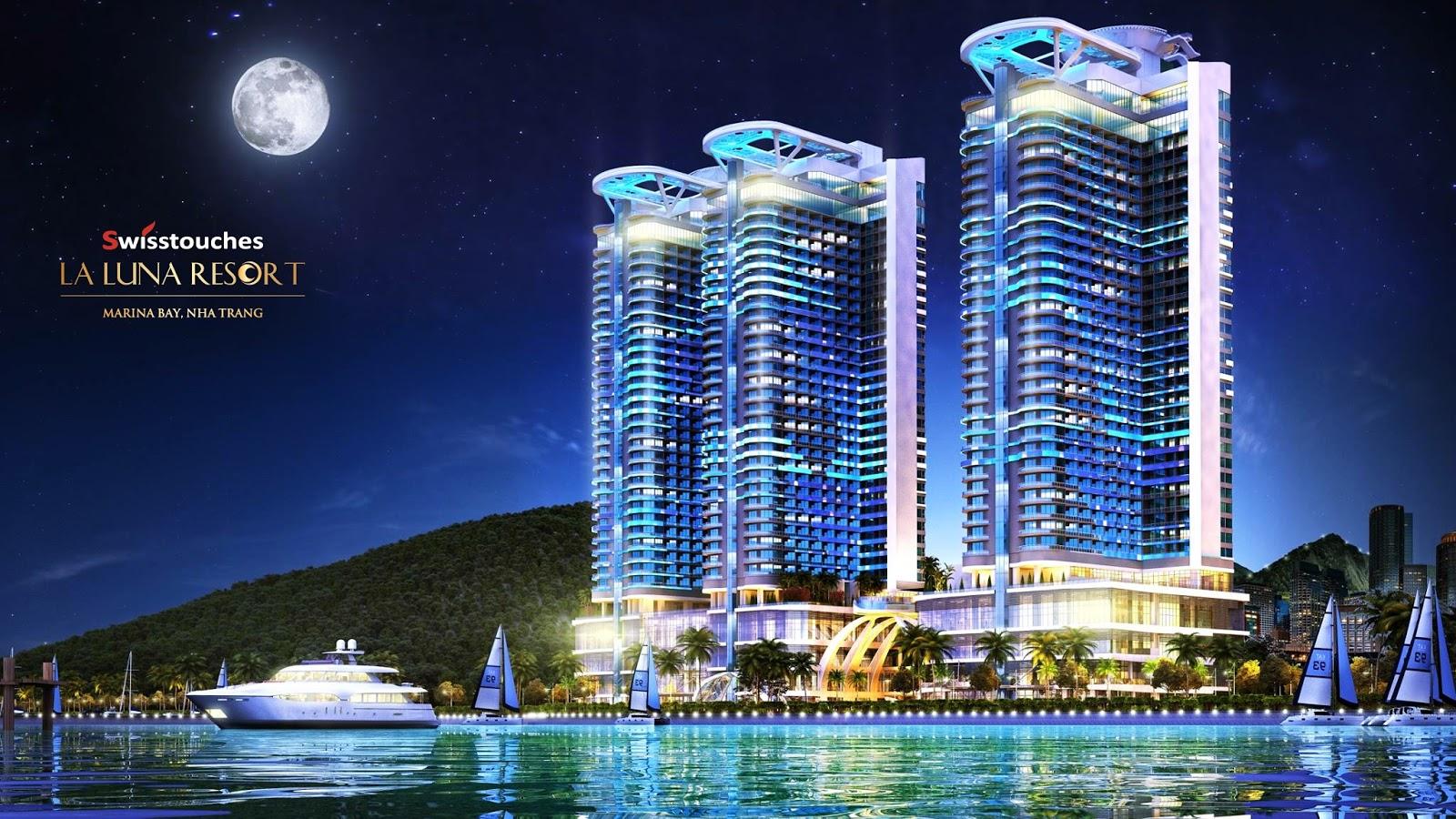 Thiết kế căn hộ đẳng cấp La Luna Nha Trang