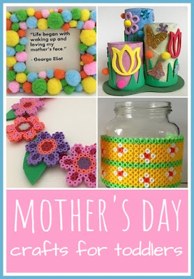 Mother's Day simple crafts for toddlers